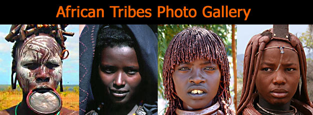 Photographic Gallery of Tribes from Africa